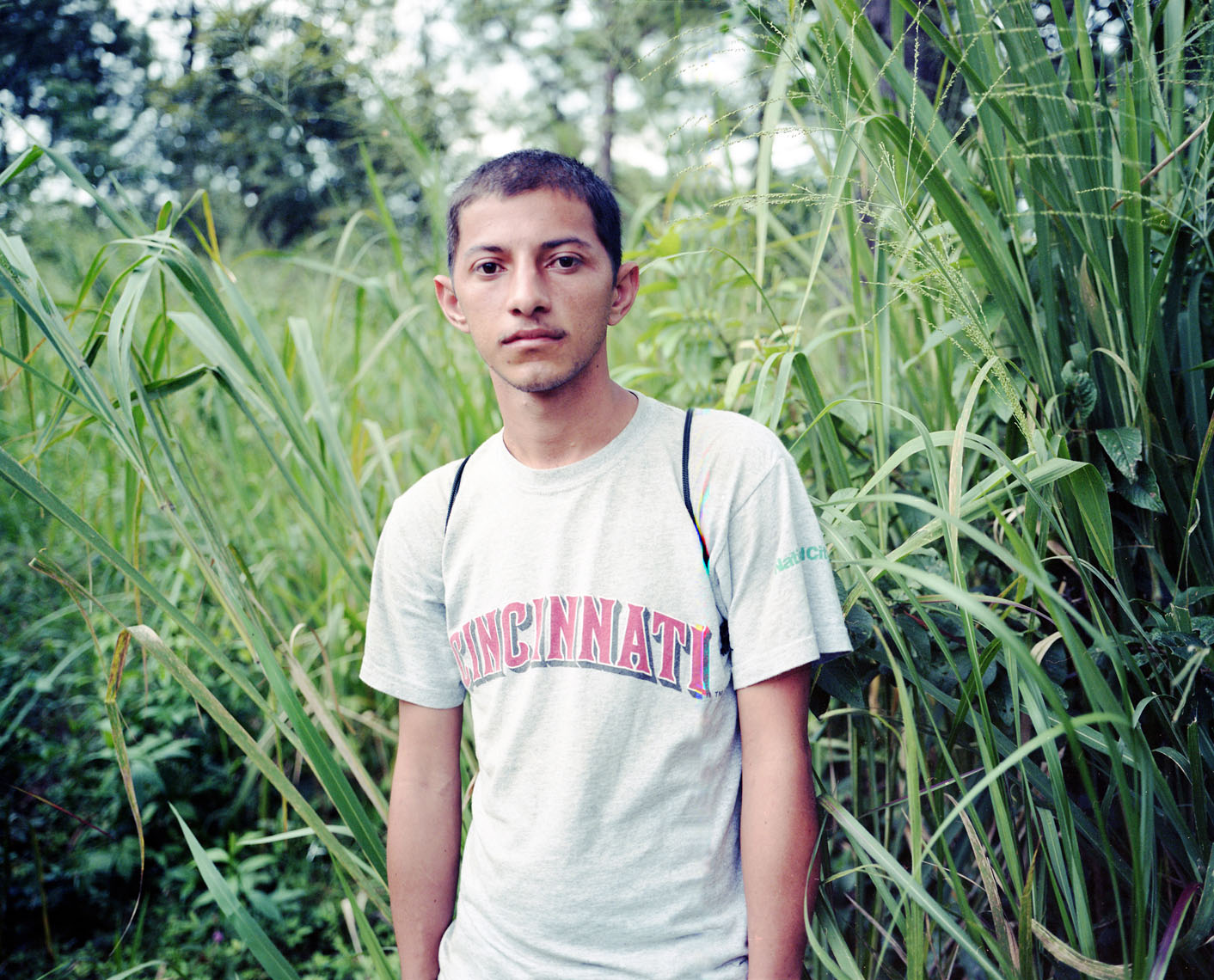 Portrait of Central American migrant