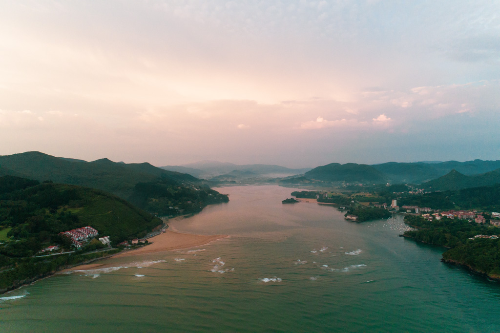 Urdaibai aerial photography