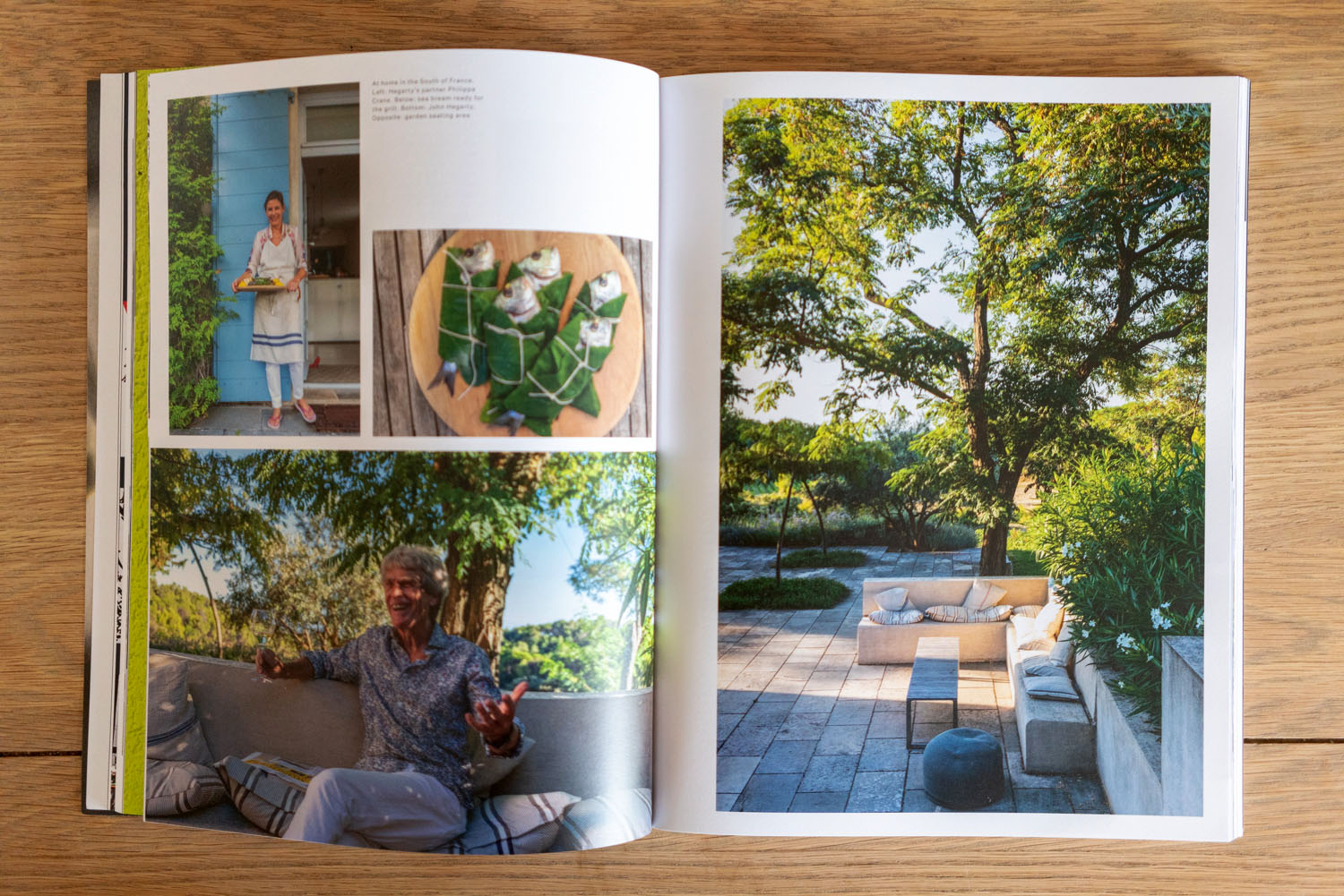 John Hegarty photos home