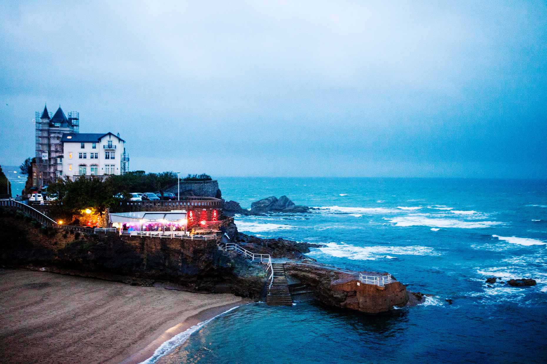Biarritz travel photography
