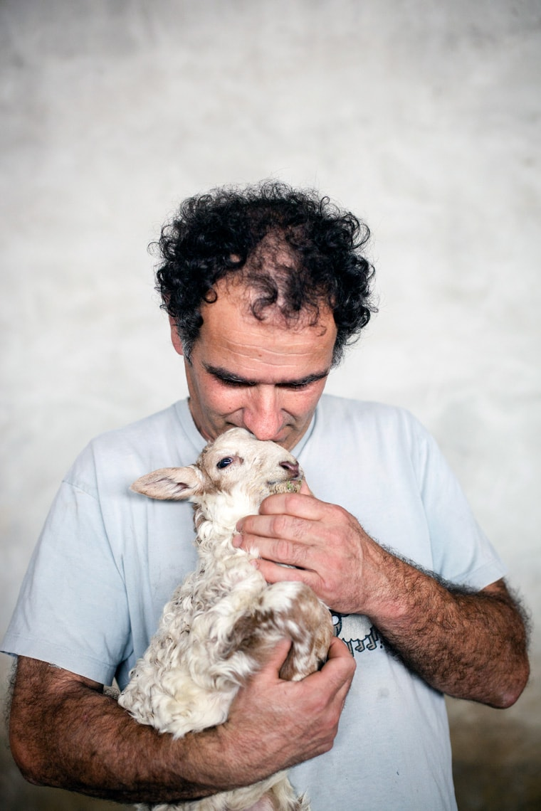 Portrait of Basque shepherd by Markel Redondo