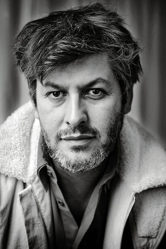 Portrait of French film director Christophe Honore