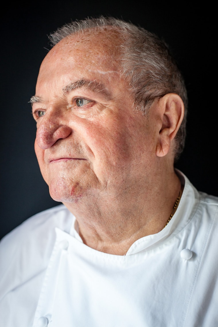 Portrait of Juan Mari Arzak in San Sebastian, Spain