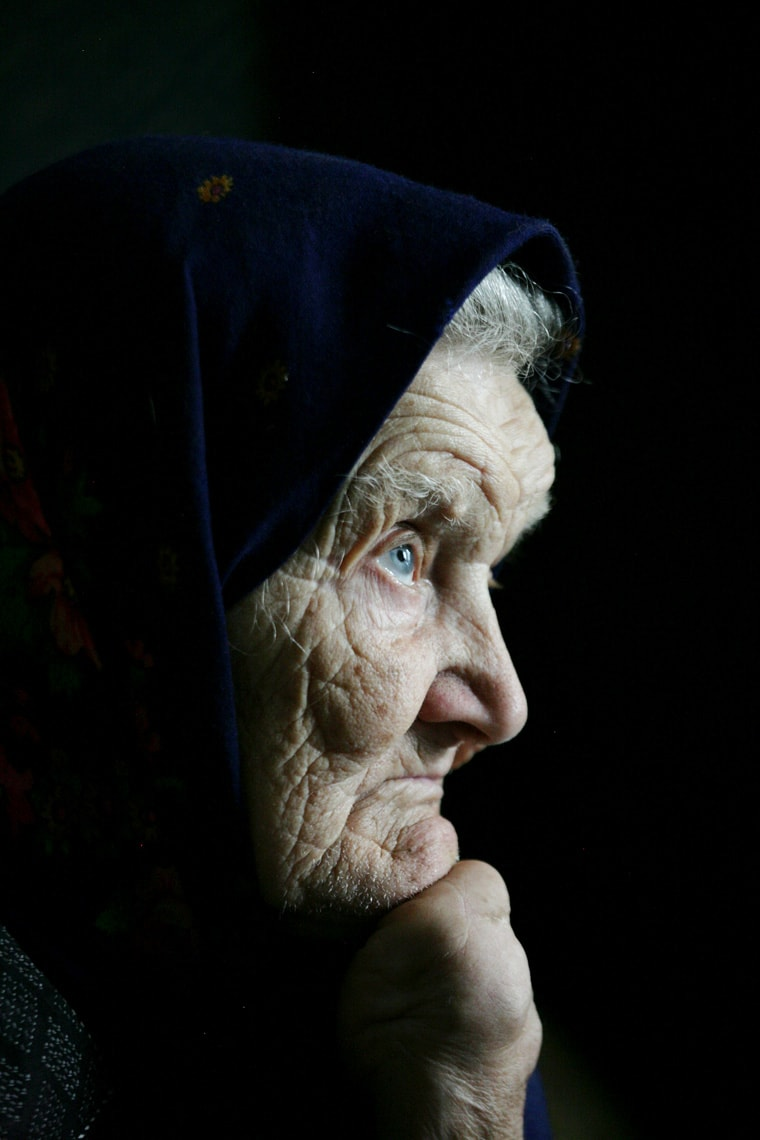 Portrait of a witness of the holocaust in Poland by Markel Redondo