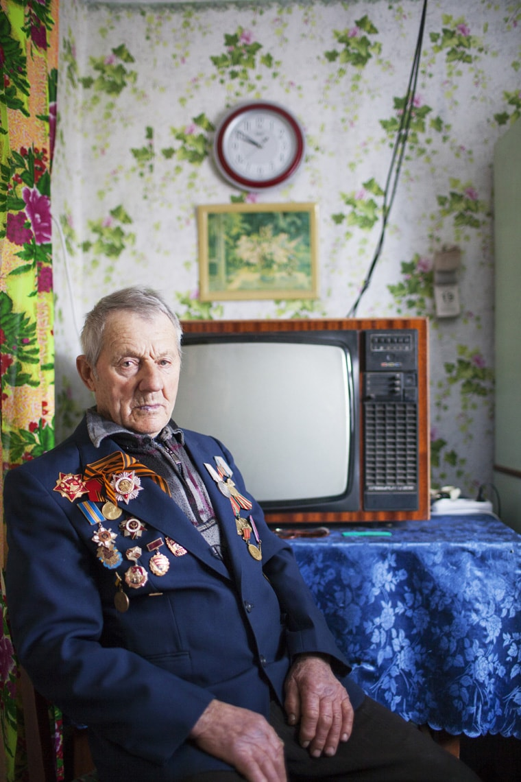 Portrait of a witness of the holocaust in Ukraine by Markel Redondo