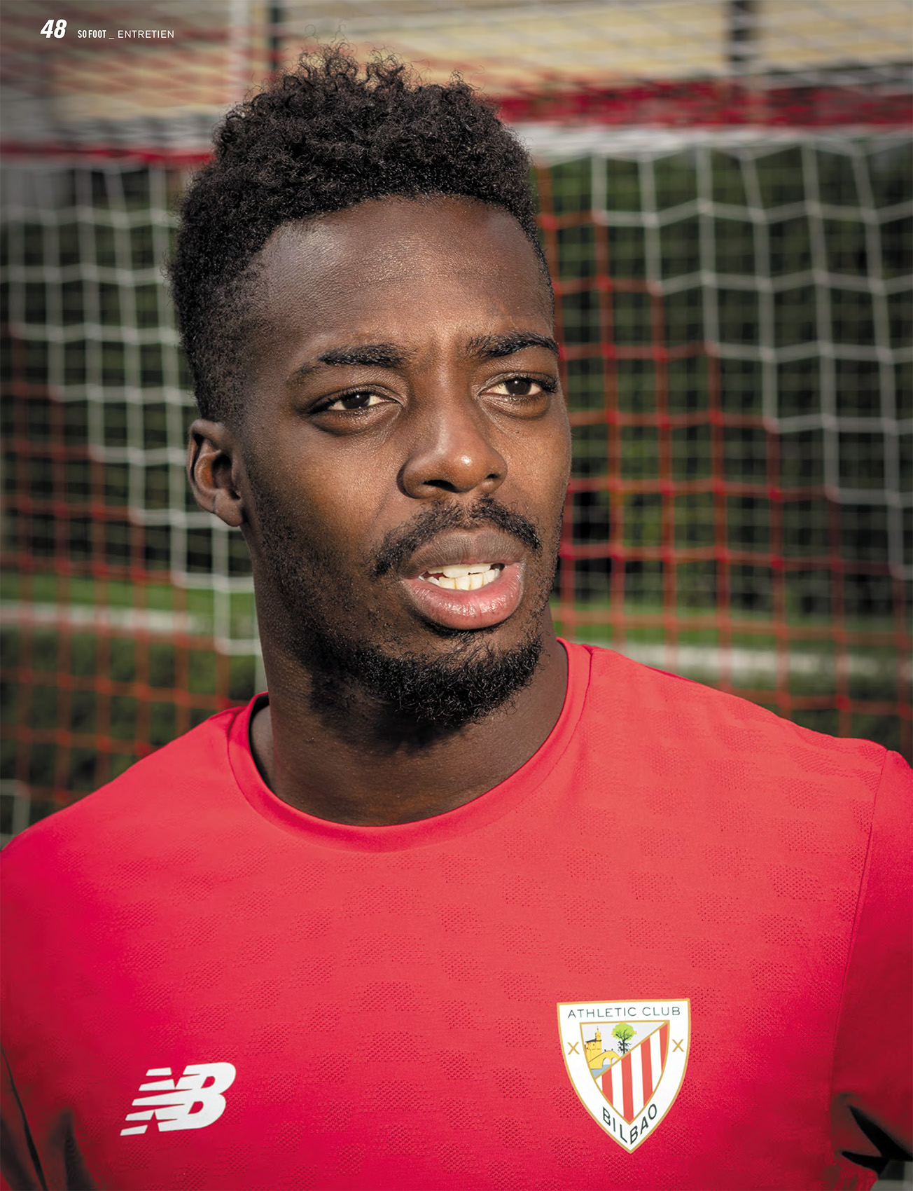 Iñaki Williams portrait Bilbao