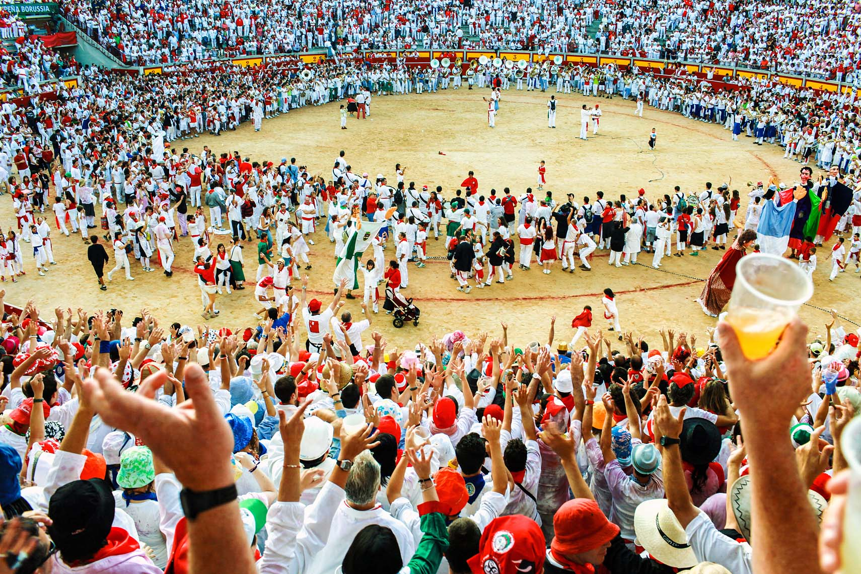 San Fermin Pamplona Bullfight